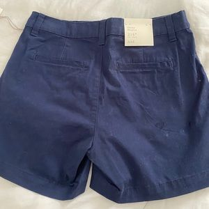 NWT  NAVY blue CHINO shorts with a bit of stretch!